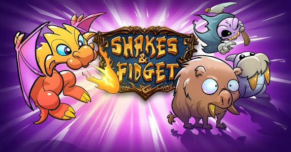 screenshot of Shakes and Fidget version 2.67.67