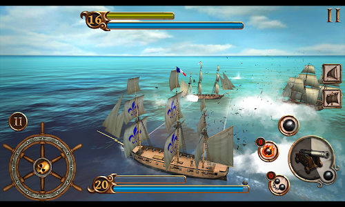 screenshot of Ships of Battle Age of Pirates version 1.6