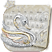 Download Silver Swan Keyboard Theme 10001003 APK