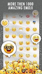 screenshot of InstaEmoji Keyboard - Smart Emojis version 1.45