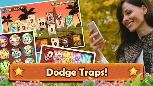 screenshot of Solitaire TriPeaks: Play Free Solitaire Card Games version 5.2.1.50412
