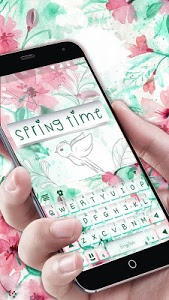 Download Springtime Flowers Keyboard Theme 2.0 APK