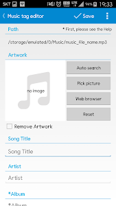 screenshot of Star Music Tag Editor version 2.0.3
