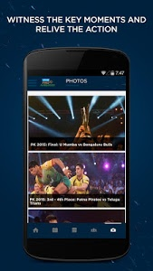 screenshot of VIVO Pro Kabaddi version 1.15
