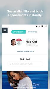 screenshot of StyleSeat version 3.60