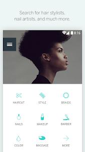 screenshot of StyleSeat version 3.01