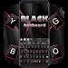 Download Stylish Black Keyboard 10001003 APK