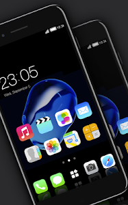 Download Stylish launcher theme for New iphone 7 2.1.6 APK