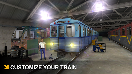 screenshot of Subway Simulator 3D version 1.21.0