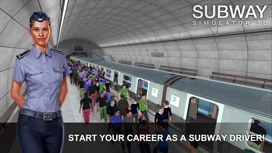 screenshot of Subway Simulator 3D version 2.0.2