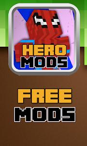 Download SuperHero Mod For MCPE 1.0 APK