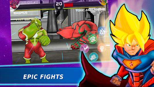 screenshot of Superheroes Vs Villains 3 - Free Fighting Game version 2.2
