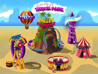 Download Sweet Baby Girl - Theme Park 1.0.6 APK