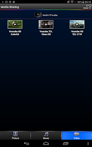 screenshot of TCL nScreen Pro version 3.0.03