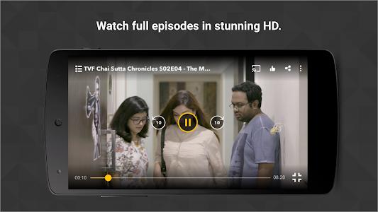 screenshot of TVFPlay - Play India's Best Original Videos version 1.3.6