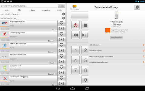 Download TVcommande d'Orange 2.1.3 APK