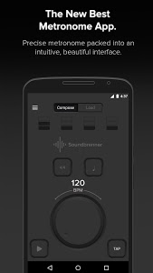 screenshot of The Metronome by Soundbrenner version 1.4.0