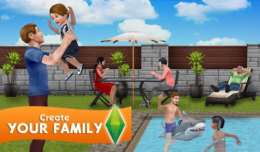 screenshot of The Sims FreePlay version 5.42.0