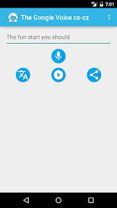 screenshot of The Translator Women's Voice version 1.2.4