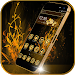 Download Luxury Gold Theme Gold Rose 1.1.12 APK