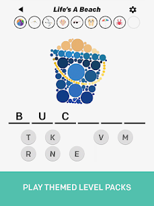screenshot of Toss Up version 0.0.4