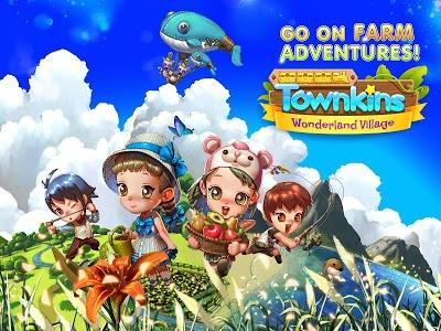 Download Townkins: Wonderland Village 1.2.137 APK