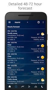 Download Transparent clock & weather 1.41.51 APK