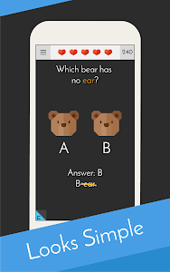screenshot of Tricky Test 2™: Genius Brain? version 5.1