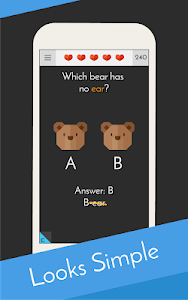 screenshot of Tricky Test 2™: Genius Brain? version 6.2