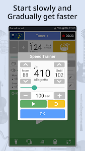 screenshot of Tuner & Metronome version Varies with device