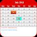Download US Calendar 2018 4.223 APK