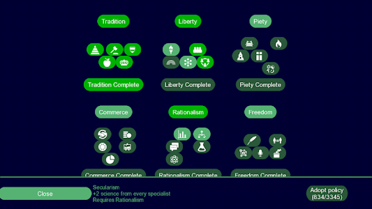 screenshot of UnCiv version 2.8.4