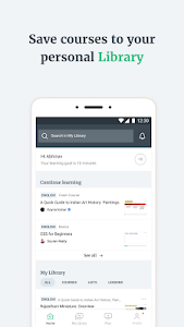 screenshot of Unacademy Learning App version 5.2.70