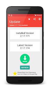 screenshot of Update for WhatsApp version 1.4