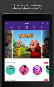 screenshot of Voot TV Shows Movies Cartoons version 2.1.44
