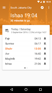 screenshot of Waktu Salat, Imsakiyah, Qibla version Varies with device