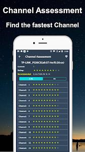 screenshot of WiFi Router Master - WiFi Analyzer & Speed Test version 1.0.10