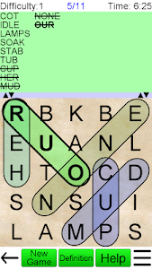screenshot of Word Search Ultimate version Varies with device
