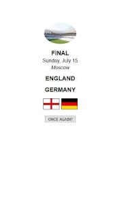 screenshot of World Cup Calculator - Russia 2018 version 1.51