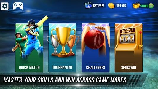 screenshot of T20 Cricket Champions 3D version 1.2.117