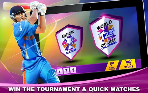 screenshot of T20 Cricket Champions 3D version 1.0.8