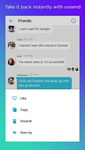 screenshot of Yahoo Messenger - Free chat version Varies with device