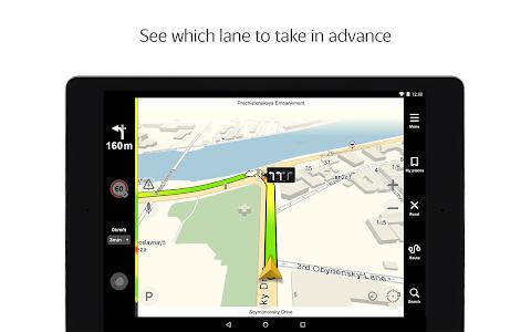 screenshot of Yandex.Navigator version 3.61
