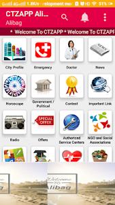 screenshot of CTZAPP Alibag - Murud version 2.4
