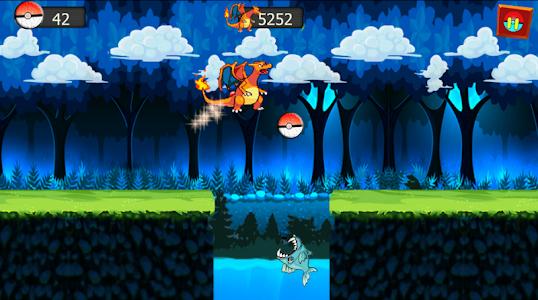 screenshot of charizard dragon adventure version 0.2
