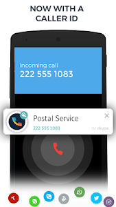 screenshot of Contacts, Phone Dialer & Caller ID: drupe version 2.005.00141-Rel