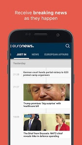 Download Euronews: Daily breaking world news & Live TV 4.3 APK