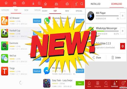 screenshot of guía 9apps Market 2017 version 1.2.3