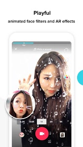 screenshot of TikTok - including musical.ly version 8.6.0