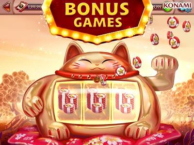 screenshot of my KONAMI Slots - Free Vegas Casino Slot Machines version 1.38.1